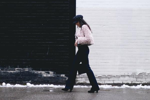 Street Style Winter Sailor Hat