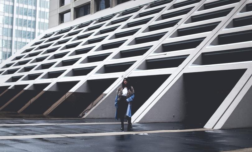 Ashley Settingiano Street Style Leather Denim Downtown Styling